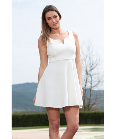 Dress Code Robe allyson R1165-6 Blanc