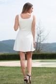 Dress Code Robe allyson R1165-6 Blanc