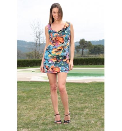 Dress Code Robe Love Look 1553 Bleu