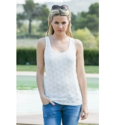 Vero Moda Fast Egypt Tank Top It 10112494 Blanc