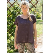 Vero Moda Burn Marack SS Top 10110511 Marron