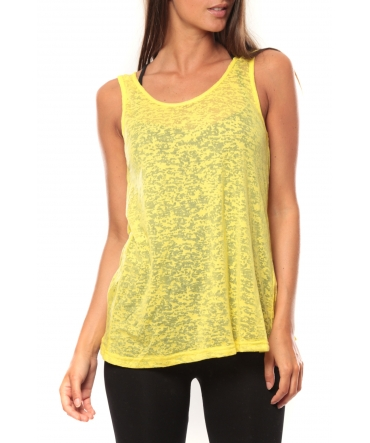 Vero Moda Débardeur Kitty Tank Top 10110750 Jaune