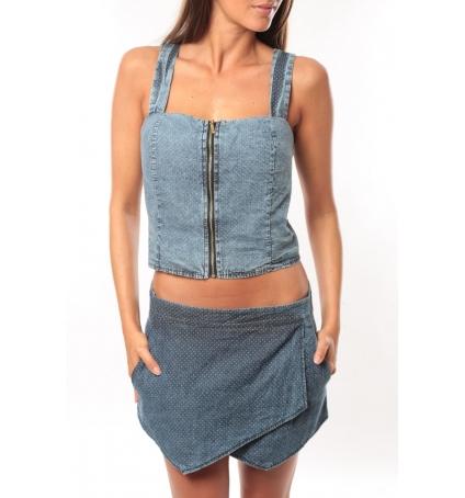 Dress Code Bustier Saxx Bleu