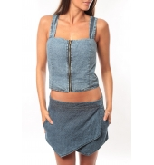Dress Code Bustier Saxx Bleu