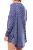 Vero Moda Coon LS Cardigan 10111383 Bleu