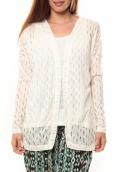 Vero Moda Coon LS Cardigan 10111383 Blanc