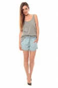 Vero Moda Cashua LW Loose Short Shorts 10108195 Bleu clair
