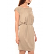 Vero Moda Coco S/L Short Dress It 10108916 Marron