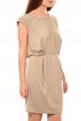 Vero Moda Coco S/L Short Dress It 10108916 Marron
