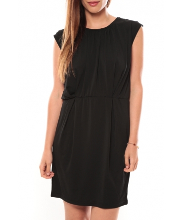 Vero Moda Coco S/L Short Dress It 10108916 Noir