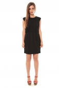 Vero Moda Coco S/L Short Dress It 10108916 Noir