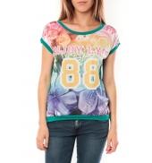 De Fil en Aiguille T-shirt 88 Vert - 1 acheté = 1 offert