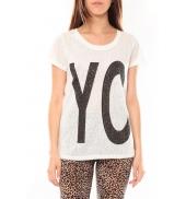 TCQB Tee shirt SL1511 Blanc