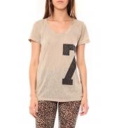TCQB Tee shirt SL1601 Beige