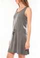Vero Moda Arrow S/L Above Knee Dress It Gris