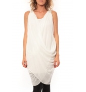 ROBE Blakie SL Short Dress  Blanc