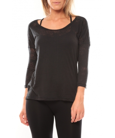 Vero Moda Fiona 3/4 Top It Noir