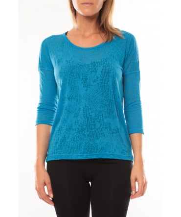 Vero Moda Fiona 3/4 Top It Bleu