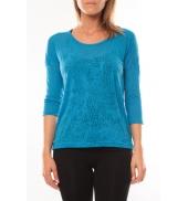 Vero Moda Fiona 3/4 Top It 10108869 Bleu
