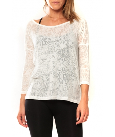 Vero Moda Fiona 3/4 Top It Blanc
