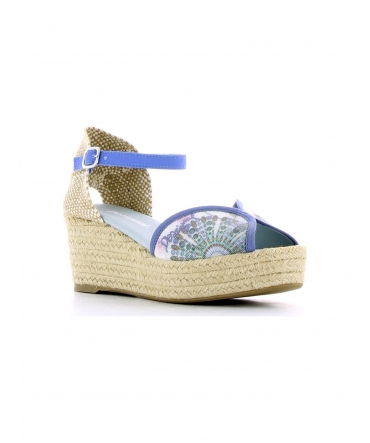 Desigual Sandales Medio 4 41SS232 Bleu