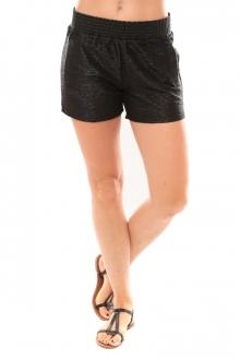 Vero Moda Grooved NW Shorts Blue 10113956 Noir