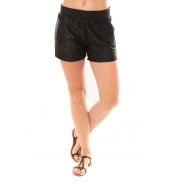 Vero Moda Grooved NW Shorts Blue 10113956 Noir