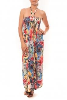 Nina Rocca Robe Sylvia F587 Rose - 1 acheté = 1 offert