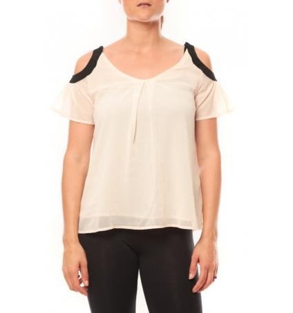 Comme des Garçons T-shirt Moni&Co 328 Beige