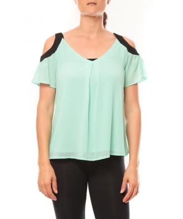 Comme des Garçons T-shirt Moni&Co 328 Turquoise
