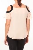 Comme des Garçons T-shirt Moni&Co 328 Rose