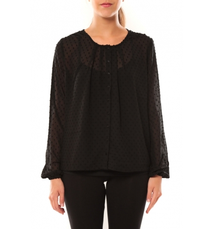 Vero Moda Stories L/S Shirt It 10115643 Noir