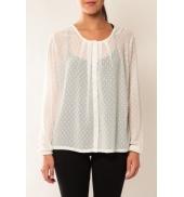 Vero Moda Stories L/S Shirt It 10115643 Blanc