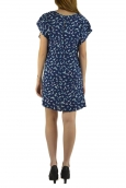 Dress Code Robe It Hippie K536-1 Bleu/Blanc