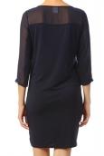 Vero Moda Jake 3/4 Short Dress It 10118490 Black iris