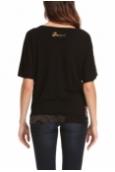 Desigual T-shirt Bea 46T2416 Noir