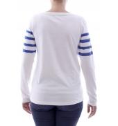 Little Marcel T-shirt Tiprint H14IBF213 Blanc