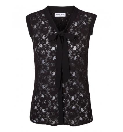 Vero Moda Tina SL Top 10116974 Noir