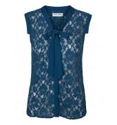 Vero Moda Tina SL Top 10116974 Bleu