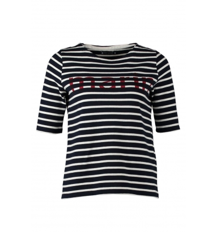 Petit Bateau Tee-shirt Marinière 1078949240 Bleu
