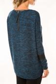 Vero Moda Markita Blouse 10115173 Bleu chiné