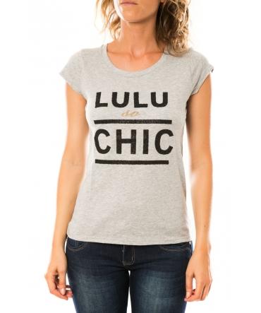 Lulu Castagnette T-shirt Chicos Gris