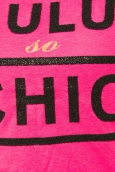 Lulu Castagnette T-shirt Chicos Rose