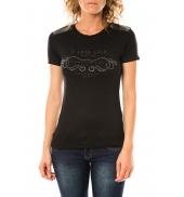 Lulu Castagnette T-shirt Funk Noir