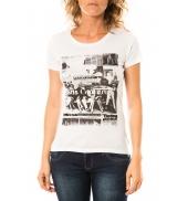 Lulu Castagnette T-shirt Mag Blanc