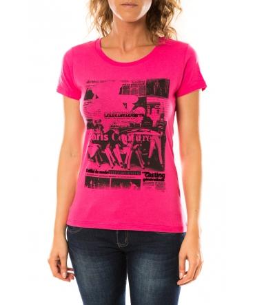 Lulu Castagnette T-shirt Mag Rose