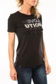 Lulu Castagnette T-shirt Sequy Noir