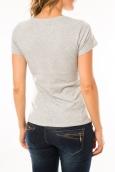 Lulu Castagnette T-shirt Troupe Gris