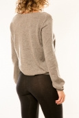 Vision de Rêve Pull 12033 Taupe