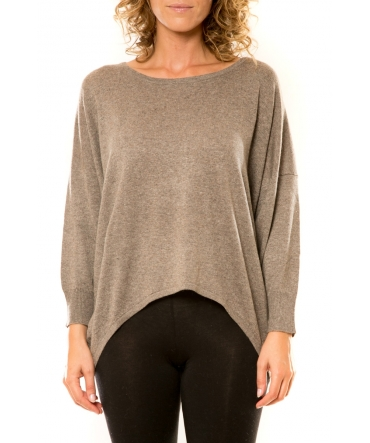 Vision de Rêve Pull 12011 Taupe